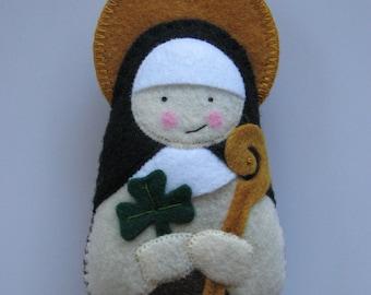 Saint Maura Felt Saint Softie