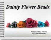 Dainty Flower Beads - A Polymer Clay Tutorial