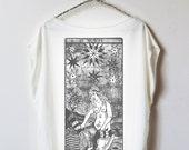 tarot card shirt : card 17 - The Star
