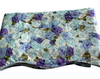 Twin Comforter - Unused -  NOS - Twin Bed - Bedspread- Blue Olive Purple