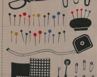 Tenugui Japanese Fabric 'Sewing Kit' w/Free Shipping