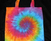 Pretty Nifty Over the Rainbow Canvas Tote Bag