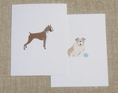 Custom Mixed Dog Breed Cards - Set of 12 Blank Note Cards