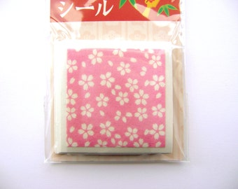 Japanese New Year Stickers Cherry Blossoms