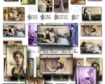 You May Refer to Me As GODDESS, digital collage sheets for art  pendants INSTANT  Digital Download at Checkout