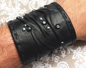 folded leather cuff on sale from 350