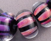 Handmade Glass Lampwork Beads (10) bbblampwork SRA
