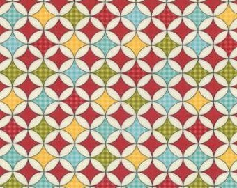 SALE Wishes - Fabric From Moda - Apple Red - 6.95 Per Yard