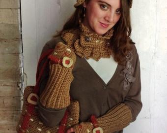 Crochet Pattern-Falling Leaves Set