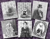 Alice in Wonderland 11x14 Print Set Fantasy Art