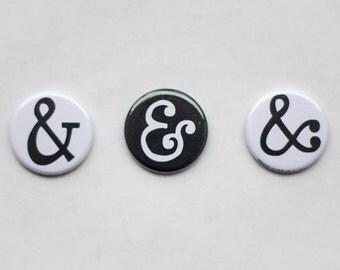 ampersand magnet set