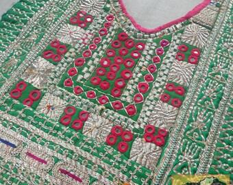 Vintage Dress Yoke, Afghanistan:  Textile Remnant E36