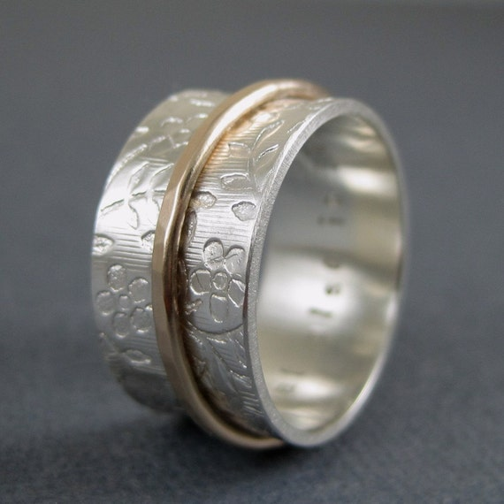 personalized spinner ring engraved spinner custom spinner