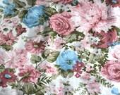 Bloomcraft screen print vintage fabric