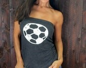 Soccer  FD Feel Naked Tshirt Tube Tops- 15 tee shirt tube top colors and 14 ink colors.