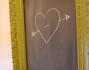 Blackboard in Vintage Frame