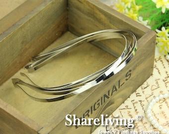 10pcs Silver Head Band For Hair Accessories HA402