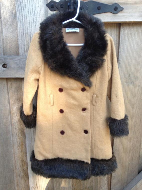 SALE Kids Fancy Vintage Coat 2T-3T