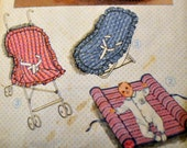Vintage Sewing Pattern Simplicity 6718   Babies' Travel Accessories  Complete
