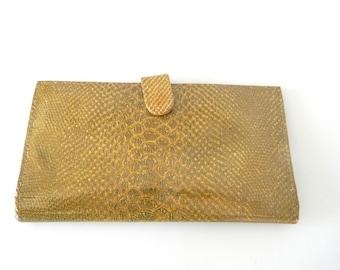 Vintage leather wallet - saks fifth avenue circa 1980