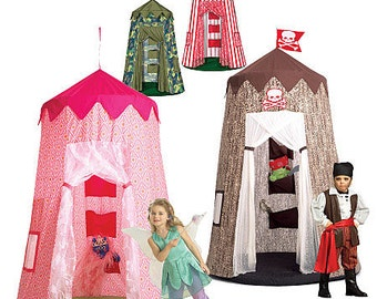 McCalls 5827 Sewing Pattern -  Childrens Play Tent Canopy