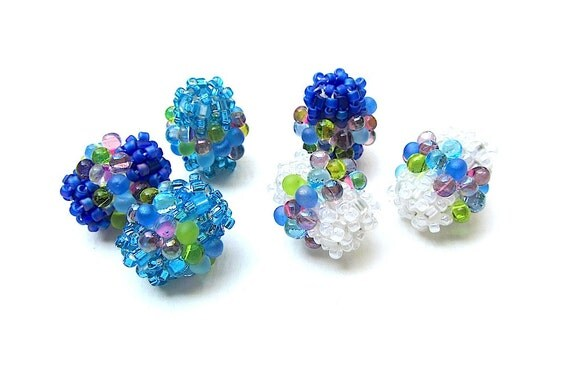 Beadweaving Tutorial No. 15 - Bubbly Beaded Beads