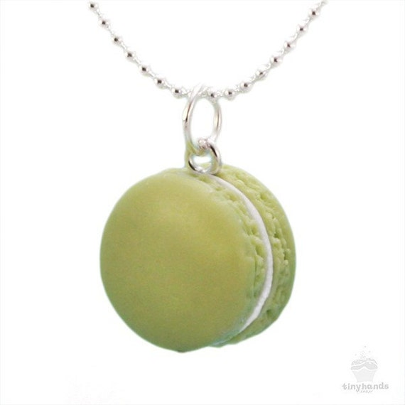 Items similar to food jewelry scented pistachio french for How to make scented jewelry