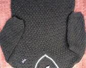 Toddler Boys Sweater-Creme Brulee Classic Boy-Cotton V Neck