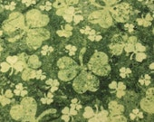 50% OFF - Stonhenge St. Paddys in Clover by Northcott Fabrics - 1 Yard - Cotton Fabric / Fabric by Yard / New Fabric / Sewing Supplies