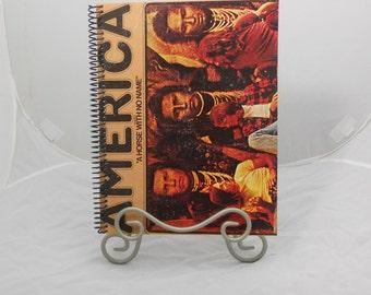 "America ""America"" Original Record Album Cover Notebook"