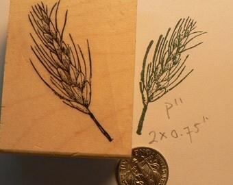 Wheat rubber stamp WM P11
