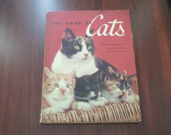 Vintage Book The Book of Cats