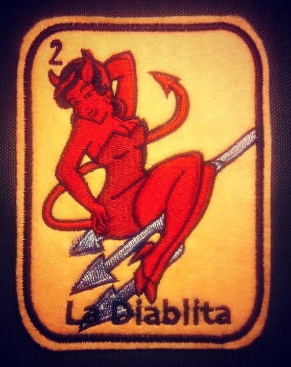 La Diabla loteria patch