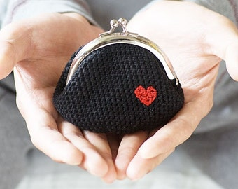 Crochet Coin Bag : Messenger Bags Pouches & Coin Purses Totes Wallets & Money Clips