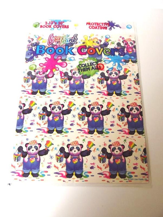 Book Cover School Supplies : Lisa frank book covers vintage s back to school