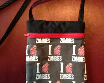 I Love Zombies Bag