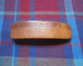 Handcrafted mahogany Barrette for Girl of Woman Gift no 2034