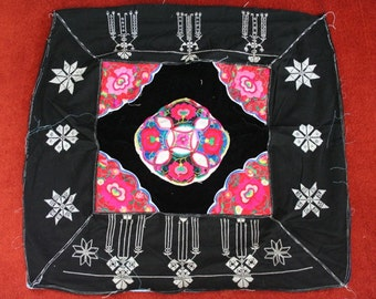 Textiles -  Hmong Baby Carrier/ Hmong / Miao fabric / Hmong embroidery panels - 1036