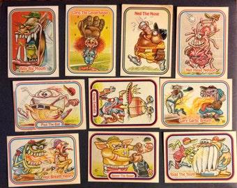 vintage low rider stickers