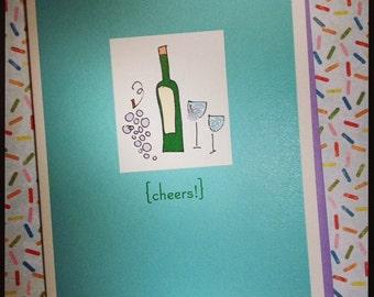 Cheers single card - Celebrate