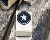 Money / Card Clip - Star, Large