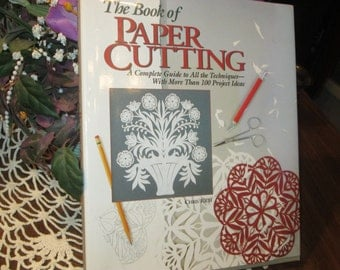 The Book of Paper Cutting by Chris Rich