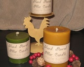 Hand Poured HIGHLY SCENTED PILLAR Candles - 3 X 3 , 3 X 4 Or 3 X 6 Sizes Available - You Choose