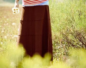 Prairie Linen Skirt