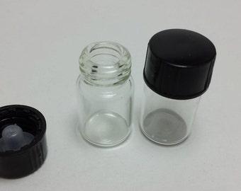 1/2 dram Glass Vials - 2 dozen