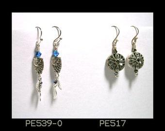 Pretty Pair Earrings PE517 & 539