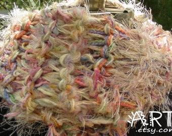 Multi Soft Pastels Knit Scarf