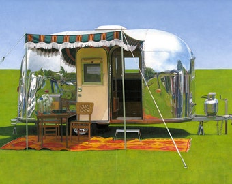 63 Airstream Bambi - limited edition archival print 28/100