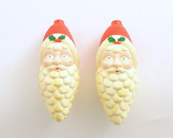 Vintage Christmas Decoration Santa Lightcovers