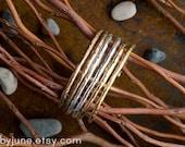 Single Silver Raw Cuff | Silver Cuff | Stacking Bracelets